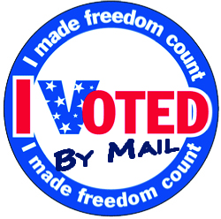 image regarding I Voted Stickers Printable called Pinellas County Manager of Elections \u003e Deliver Ballots \u003e IVoted