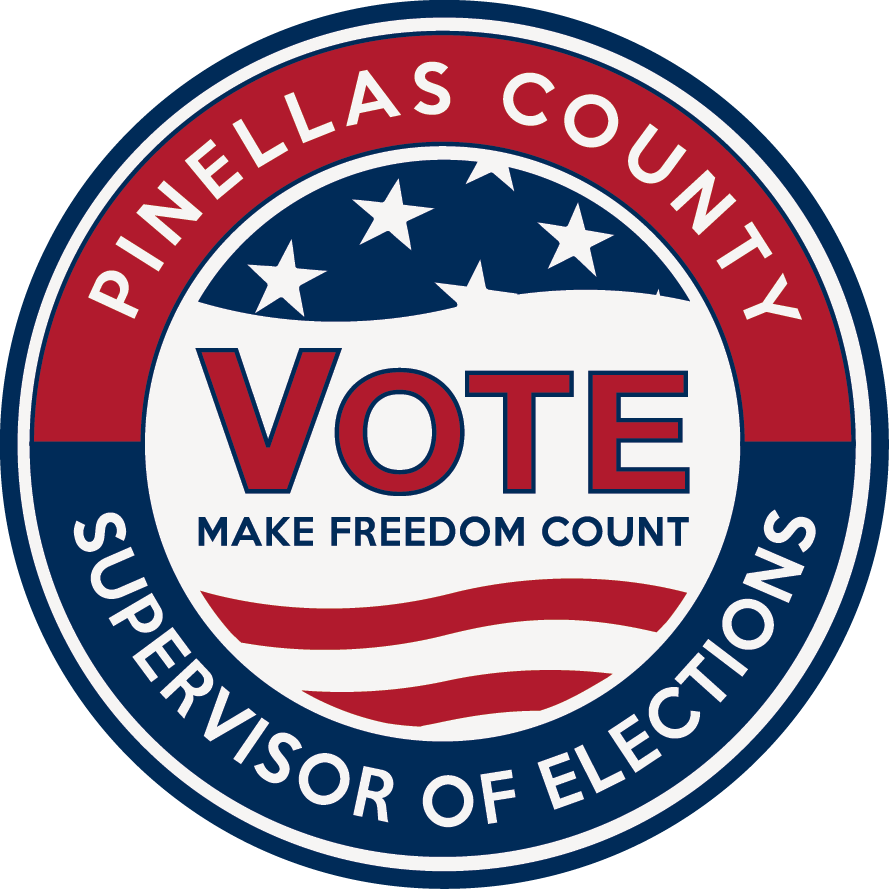 Pinellas County Voter Registration Card