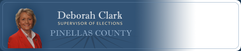 Deborah Clark Supervisor of Elections Pinellas County